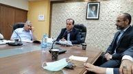 دیدار هیئت اعزامی شرکت پتروشیمی شیراز در نمایشگاه نفت و گاز سوریه با وزیر نفت این کشور