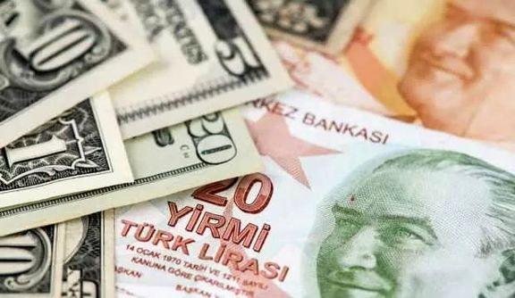 لیر به پایینترین نرخ خود در برابر دلار رسید