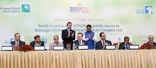 شرکتهای ادناک و آرامکو مالکان مجتمع 44 میلیارد دلاری شهر رتناگری در کشور هند می شوند
