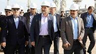 بازدید معاون وزیر نفت از مجتمع پتروشیمی بندرامام