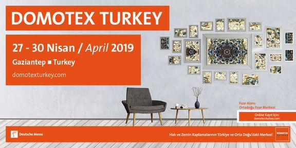 Domotex Turkey Gaziantep,27-30 Apr 2019