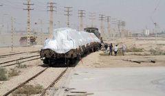 حرکت قطار بر ریل پتروشیمی